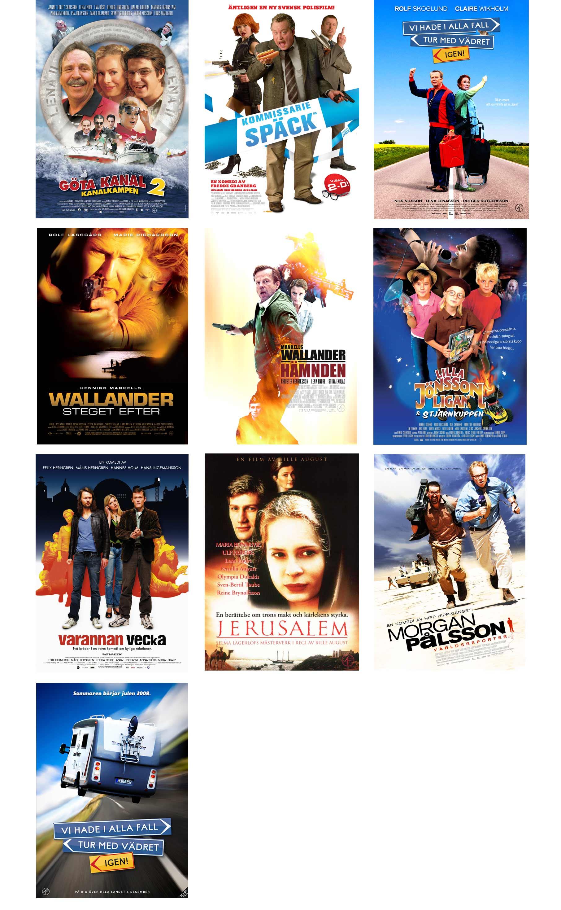 Filmaffischer diverse